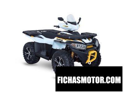 Ficha técnica Access Shade Sport 850 Touring 2020