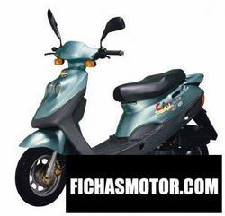 Imagen moto Adly cat 125b 2007