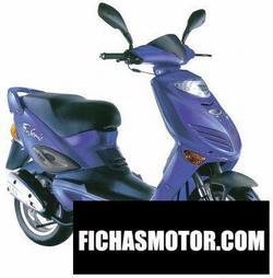 Imagen moto Adly supersonic 50 2007