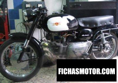 Ficha técnica Aermacchi ala bianca 175 1961