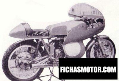 Ficha técnica Aermacchi ala d oro 1960