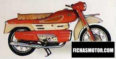 Ficha técnica Aermacchi chimera 175 1964