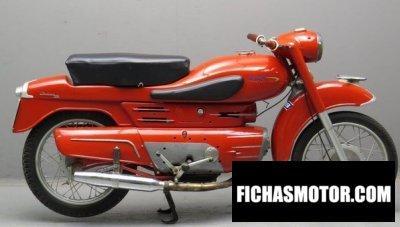 Ficha técnica Aermacchi chimera 250 1964