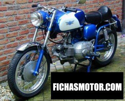 Ficha técnica Aermacchi h-d 250 ala azzurra 1962