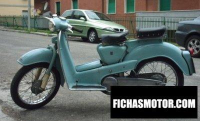 Ficha técnica Aermacchi hd 150 zeffiro 1958