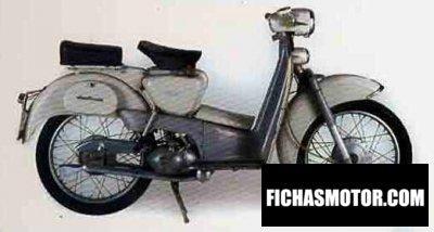 Ficha técnica Aermacchi hd 150 zeffiro 1960