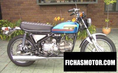 Ficha técnica Aermacchi ss 350 1974