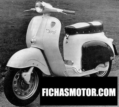 Ficha técnica Agrati capri 50 1960