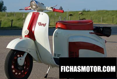 Ficha técnica Agrati capri 50 s 1968