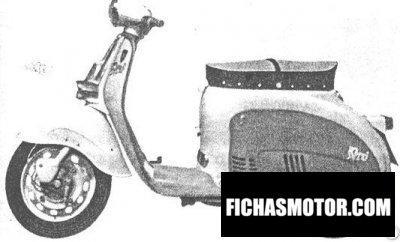 Ficha técnica Agrati capri 70 1958