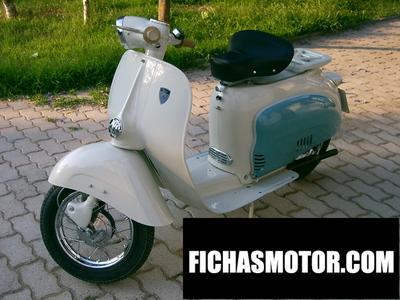 Ficha técnica Agrati capri super brianza 150 1965
