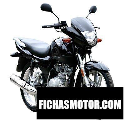 Ficha técnica Ajs 125 eco commuter 2011