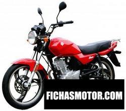 Imagen moto Ajs eco-125 2008