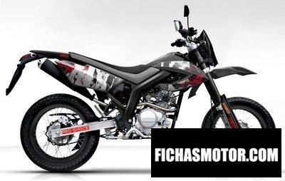 Ficha técnica Ajs jsm 50 motard 2012