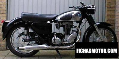 Ficha técnica Ajs Model 16 350 spectre 1957
