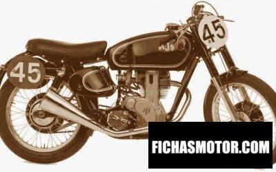 Ficha técnica Ajs Model 16 350 spectre 1960