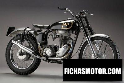Ficha técnica Ajs Model 16 350ms 1949