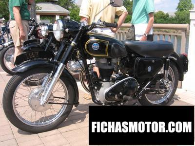 Ficha técnica Ajs Model 16 350ms 1954