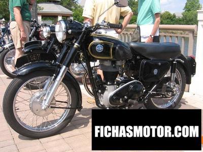 Ficha técnica Ajs Model 16 350ms 1958