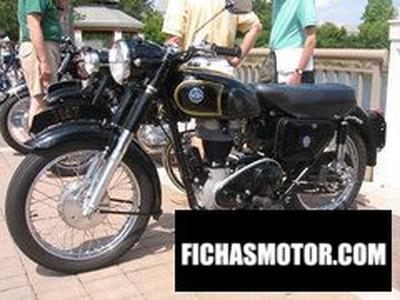 Ficha técnica Ajs Model 16 350ms 1963