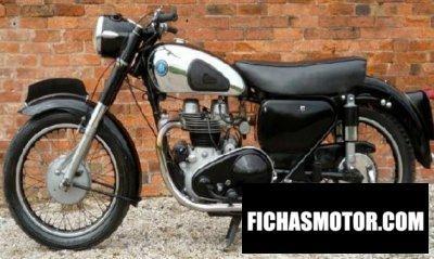Ficha técnica Ajs Model 30 600 1956