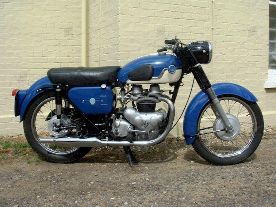 Ficha técnica Ajs Model 31 650 swift 1959