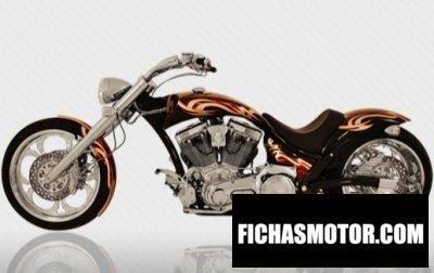 Ficha técnica American Ironhorse slammer 2009
