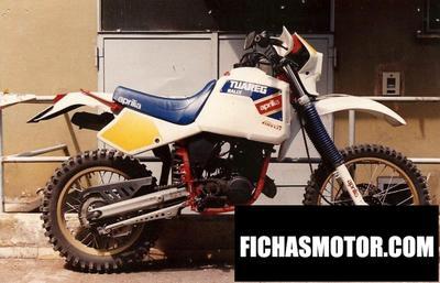 Ficha técnica Aprilia 250 tuareg 1985