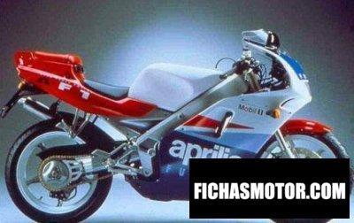 Ficha técnica Aprilia af1 125 futura 1991