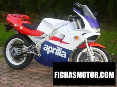 Ficha técnica Aprilia af1 125 sport pro 1992
