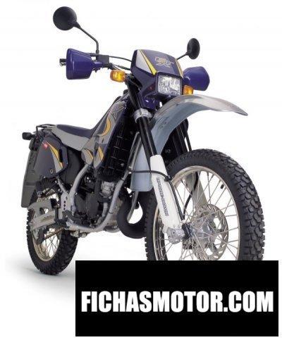 Ficha técnica Aprilia etx 125 2001