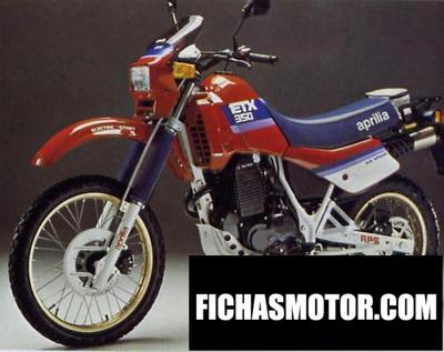 Ficha técnica Aprilia etx 350 ae 1987