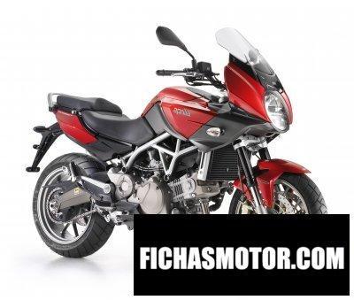 Ficha técnica Aprilia mana 850 gt abs 2012