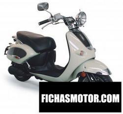 Imagen moto Aprilia mojito 150 2006