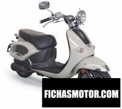 Imagen moto Aprilia mojito 50 Custom 2008