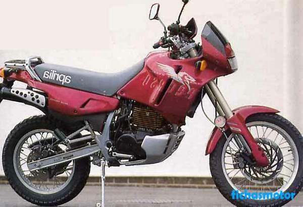 Ficha técnica Aprilia pegaso 600 1991