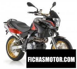 Imagen moto Aprilia pegaso 650 Factory 2009
