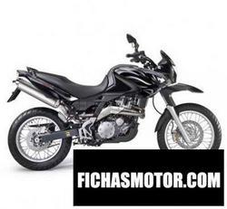 Imagen moto Aprilia pegaso 650 trail 2010