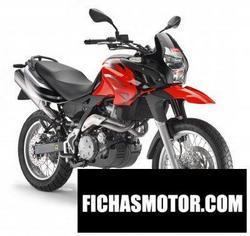 Imagen moto Aprilia pegaso 650 trail 2012