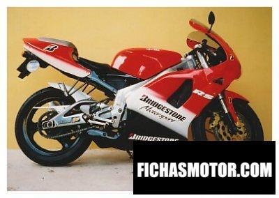 Ficha técnica Aprilia rs 125 1997