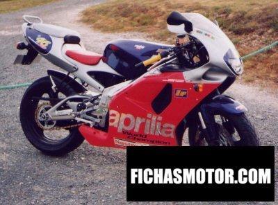 Ficha técnica Aprilia rs 125 1998