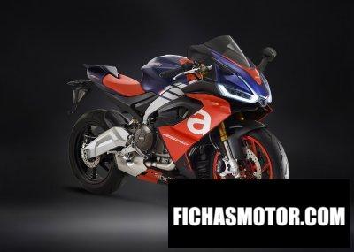 Ficha técnica Aprilia RS 660 2020