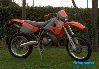 Ficha técnica Aprilia rx 125 2002