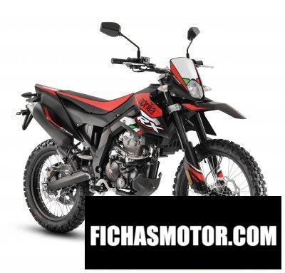 Ficha técnica Aprilia RX 125 2020