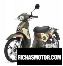 Imagen moto Aprilia scarabeo 50 street 2008