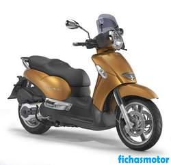 Imagen moto Aprilia scarabeo 500 2005