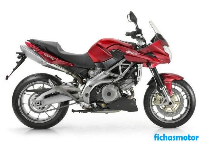 Ficha técnica Aprilia shiver 750 gt 2012