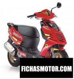 Imagen moto Aprilia sonic 50 gp 2008