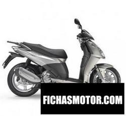 Imagen moto Aprilia sportcity cube 200 2009