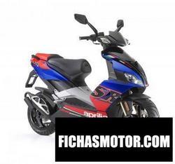 Imagen moto Aprilia sr 50 r 2010